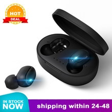 A6S Bluetooth casques pour Redmi Airdots sans fil écouteurs 5.0 TWS écouteur suppression de bruit micro pour Xiaomi iPhone Huawei Samsung