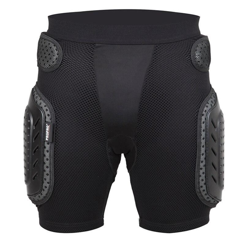 Propro XL черные шорты для скейтбординга анти капля Броня снаряжение Хип поддержка