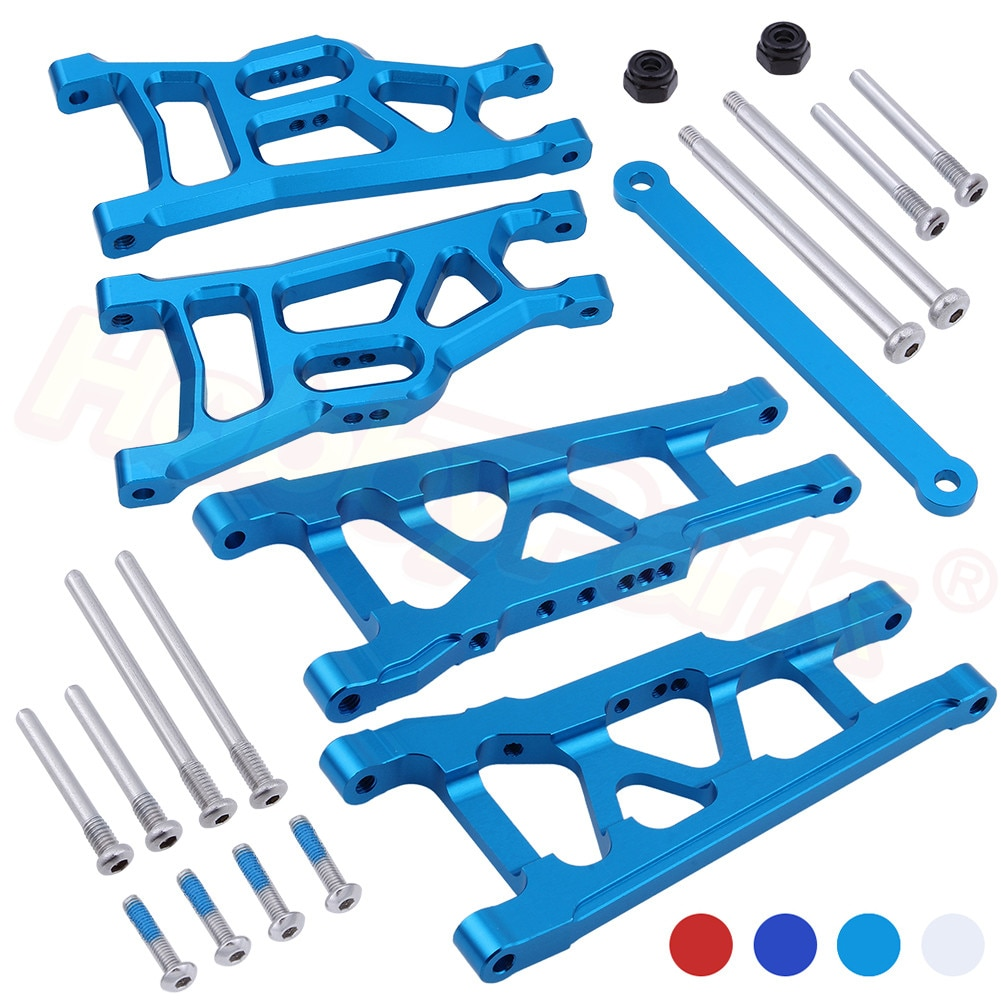 Vorne Hinten Aluminium Suspension Arme Krawatte Bar 3655X 3631 für 1/10 Traxxas Stampede VXL 2WD Monster Truck Rustler VXL Upgrade teile