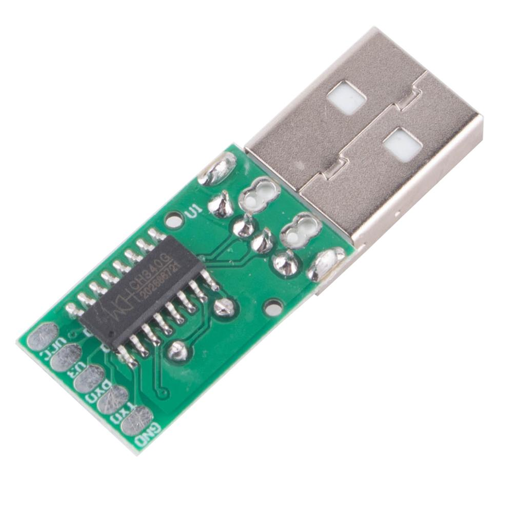 Módulo de actualización de puerto serie CH340G, USB a 5V TTL, placa...