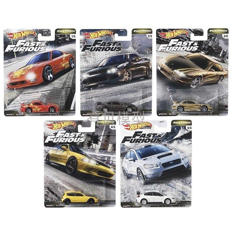 2020 hot wheels cars1/64 velozes furiosos 6 subaru civic eg nissian s15 mazda rx7 carro colecionador de metal presente para meninos