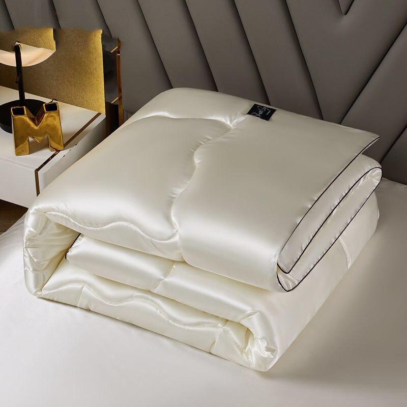 الحرير الجليد الصيف لحاف بارد ، لحاف مكيفة الهواء ، الربيع والخريف لحاف رقيقة ، لحاف قابل للغسل للطلاب والأطفال