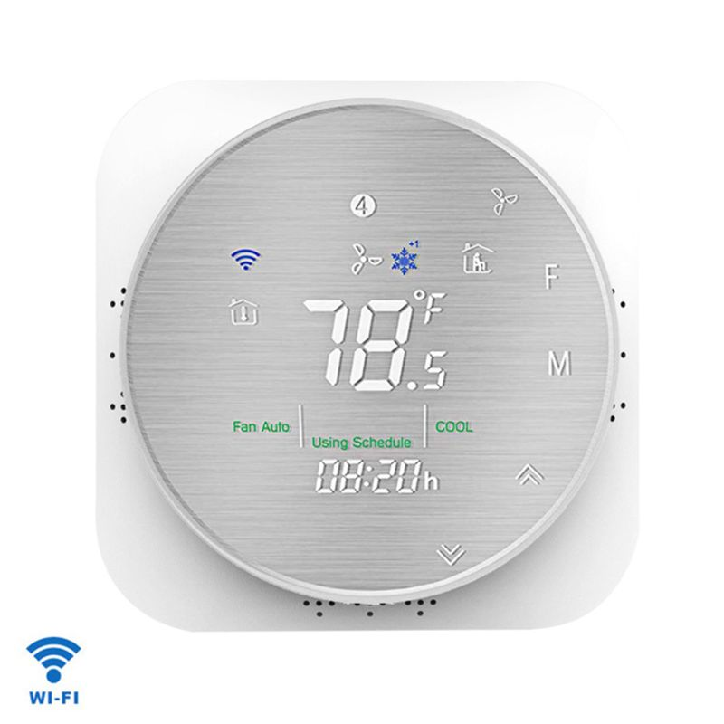High Quality Household WiFi smart thermostat temperature controller for heat pump US regulatory circuit