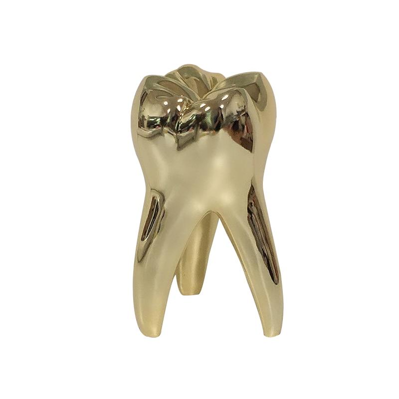 AliExpress - Dentist Gift Small Golden Tooth Model Figurines Ornament Artcrafts Dentistry Gifts    Clinic Office Desktop Sculpture Decoration