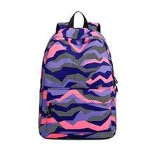 AUAU-nouveau sac à dos en Polyester étanche pour les adolescents de lécole filles garçons multifonction femmes voyage sacs à dos femme sac livre Moch