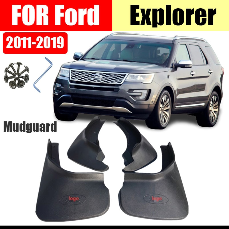 mud flaps for FORD Explorer mudguards explorer fenders Mud guard splash flpa flpas guards accessories auto styline 4PCS