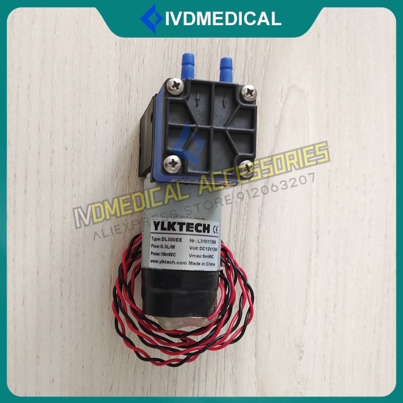 Waste Pump Fit For Urit3000Plus Urit-3060 Urit-3080 Urit-3081 Urit3060/3080/3081/3000Plus Analyzer YLKTECH DL300EE 12V Pump