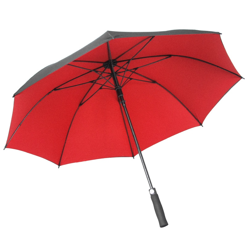 Double-Layer Oversized Reinforced Thickened Double Automatic Long Handle Straight Pole Umbrella enlarge