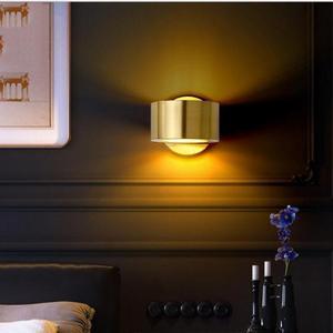 Modern Wall Lamp Living Bedroom Bedside Restaurant Decor Led Lighting Nordic Minimalist Golden Sconce Luminaire Wall Lights