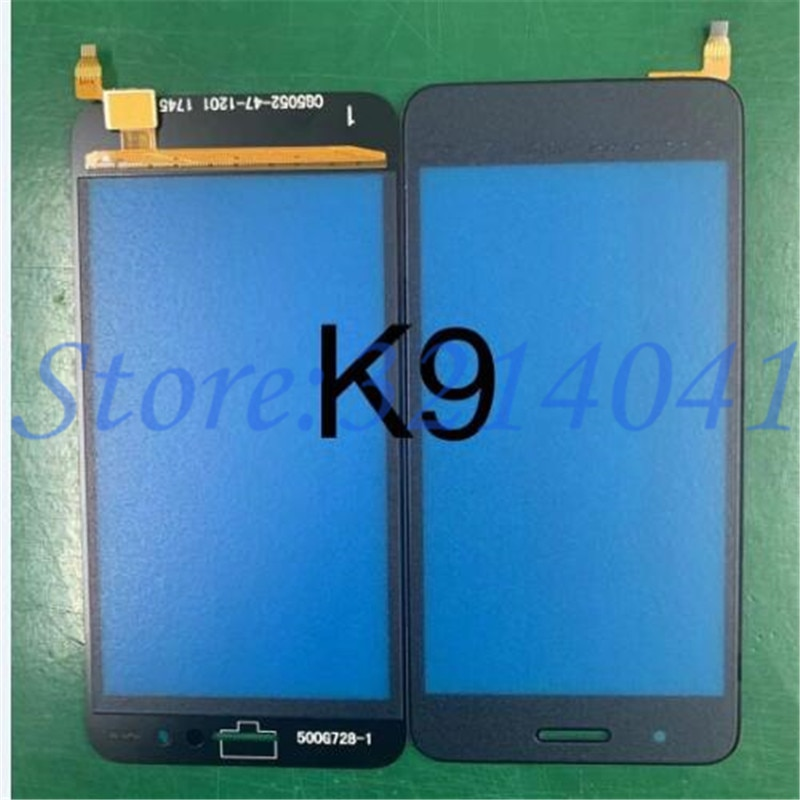 10Pcs/Lot Top Quality New For LG K9 X2 X210 2018 Touch Screen Digitizer Sensor Outer Glass Lens Panel Replacement Parts