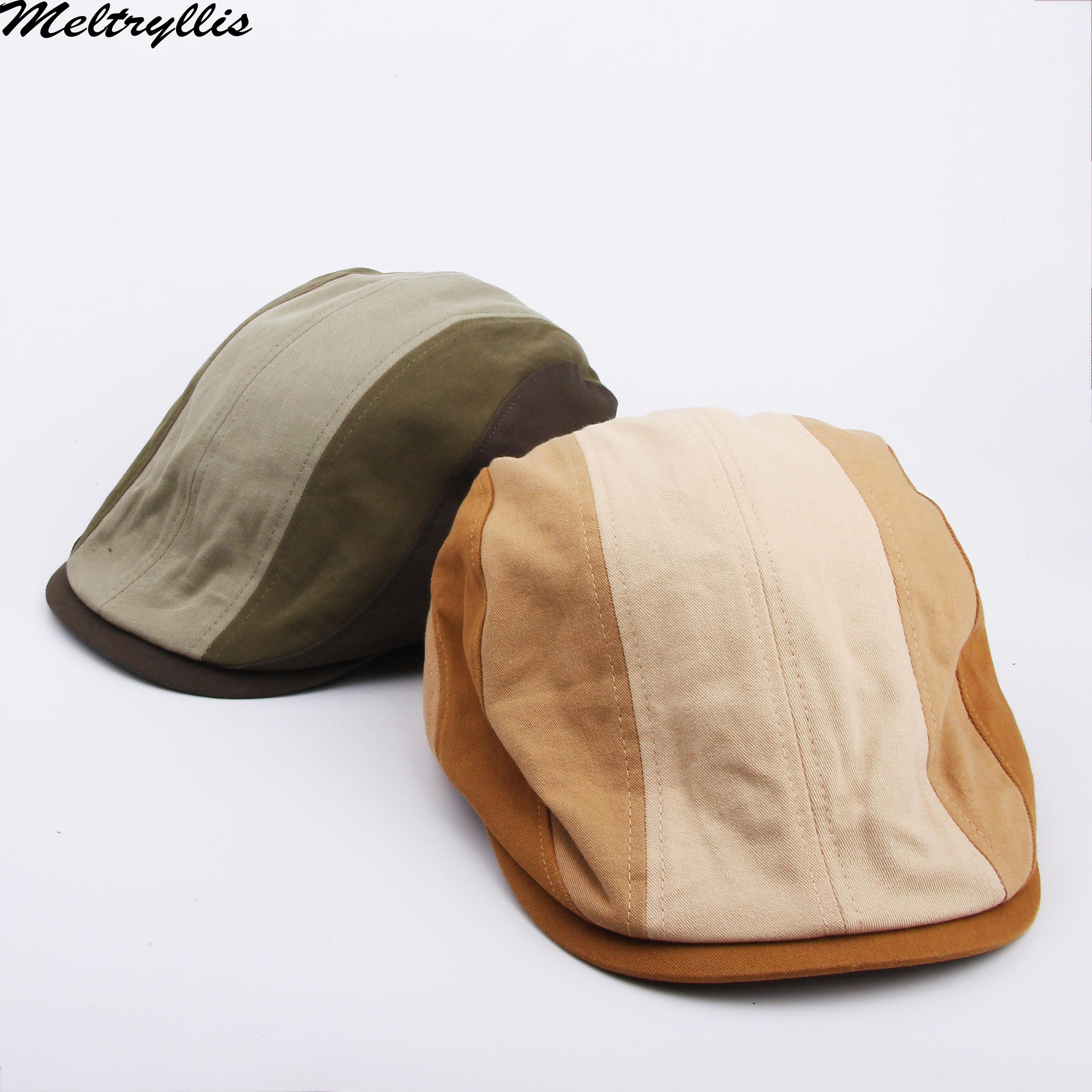 [Meltryllissa] Новый хлопковый берет, кепка, Мужская кепка, Кепка с козырьком Duckbill, Кепка-кабильник, летняя Классическая кепка газетчика, кепка для ...
