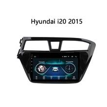 "9"" octa-core 2.5D IPS screen Android 10 Car GPS radio Navigation for Hyundai I20 2016-2018"