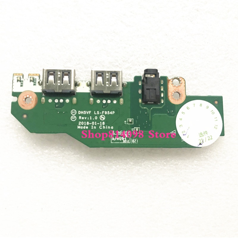 DH5VF LS-F954P لشركة أيسر نيترو 5 AN515-53 سلسلة USB الصوت مجلس اختبار الشحن مجانا جيدا