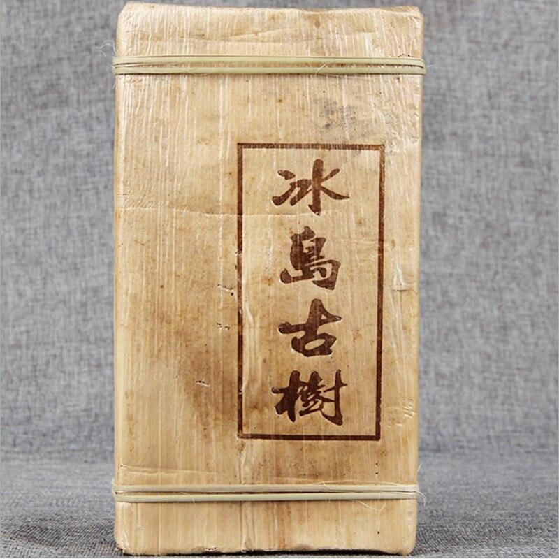 بوير الشاي الصينية يوننان القديمة الخام بوير 500g الرعاية الصحية بوير الشاي الطوب لفقدان الوزن الشاي شاي صيني