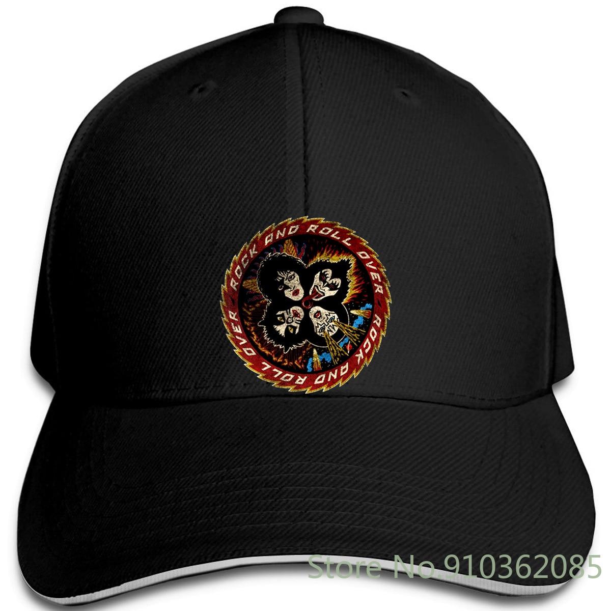 Kiss Rock and Roll Over Gene Simmons gorras de béisbol Unisex oficiales para hombres y mujeres