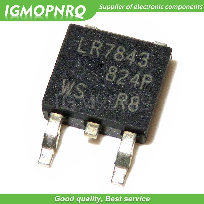 10 Uds IRLR7843 LR7843 IRLR7843TRPBF MOSFET de potencia a-252