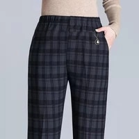 8xl extra large fat mother autumn pants middle aged spring and autumn trousers plus fat middle aged and elderly casual trousers