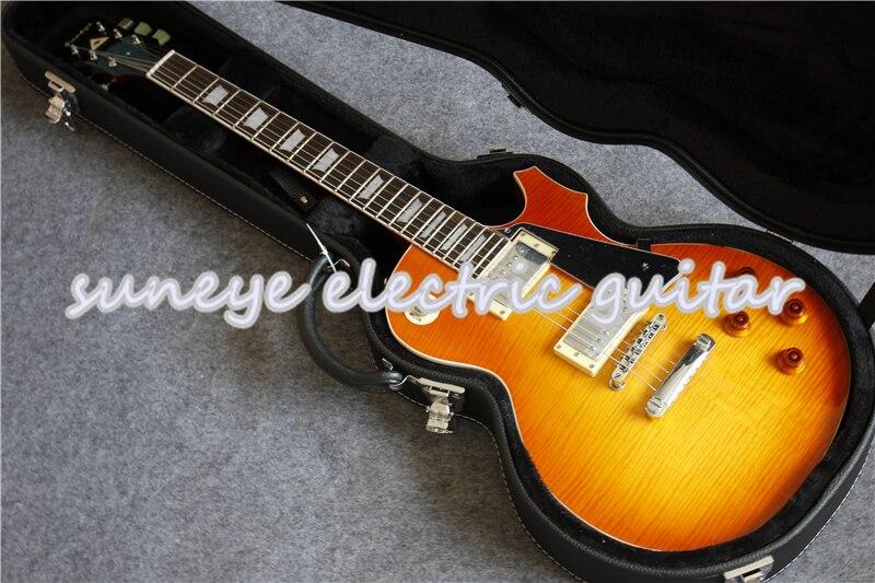 Guitarra eléctrica estándar Suneye Chrome, Guitarra eléctrica OEM China, golpeador negro, Guitarra...