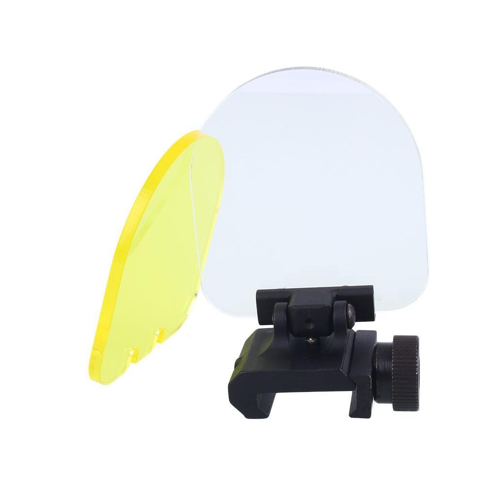 Tactical Scope Mount Red Dot Sight Scope Transparent Bulletproof Lens Protector Airosft AR15 Gun Hunting Riflescope Accessories
