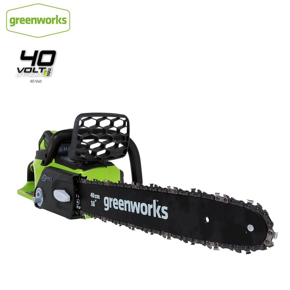 Greenworks-منشار كهربائي لاسلكي ، منشار كهربائي ، بدون بطارية وشاحن ، 40 فولت ، محرك بدون فرش 20312 ، إرجاع مجاني
