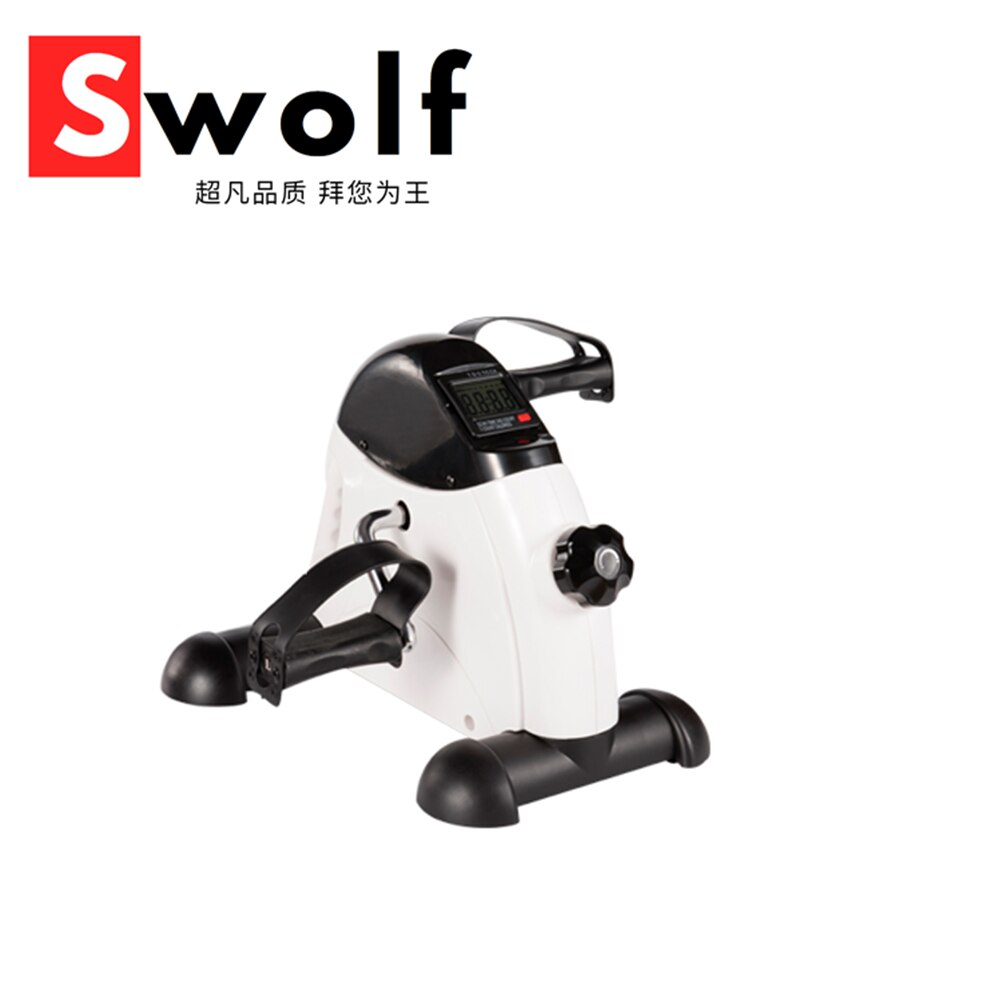 Indoor cyclette Mini pedale Stepper esercizio macchina bici ciclo Fitness con Display LCD tapis roulant per l'home Office