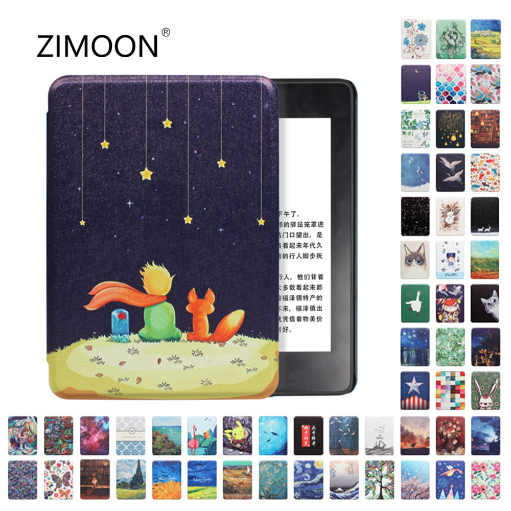 Amazon Kindle Paperwhite Case Smart Cover for Kindle 10th Hard Case for Kindle Paperwhite 4/3/2 Prin
