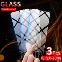 Защитное стекло для Samsung Galaxy S21 Plus Note 20 10 Lite S20 FE A02S A32 A72 A52 A71 A51 A12 A30S, 3 шт.