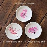 sakura cup cold temperature color changing flower display sake cup ceramic tea cup tea bowl home use kitchen drinkware