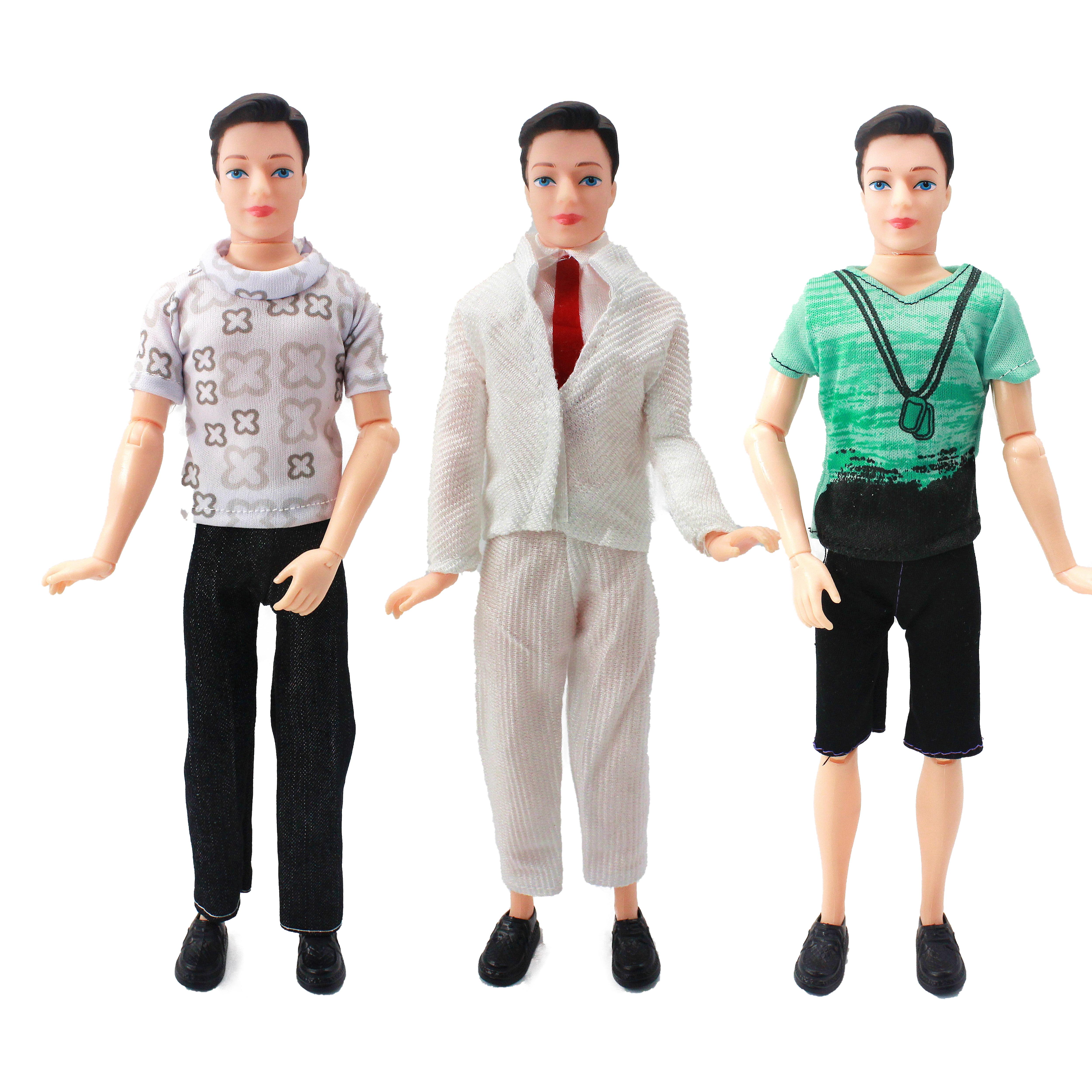 Juguetes para niñas 1 muñeca de moda masculina, cuerpo de muñeca +...