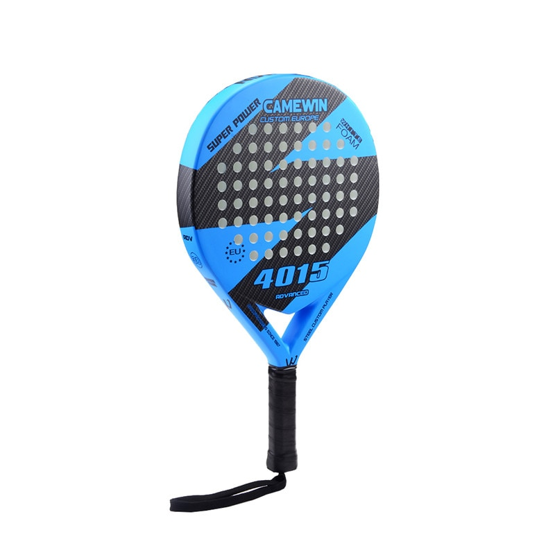 New Carbon and Glass Fiber Padel Tennis Racket Men Women Popular Sport Soft Face Tennis Paddle Racquet with Paddle Bag Cover