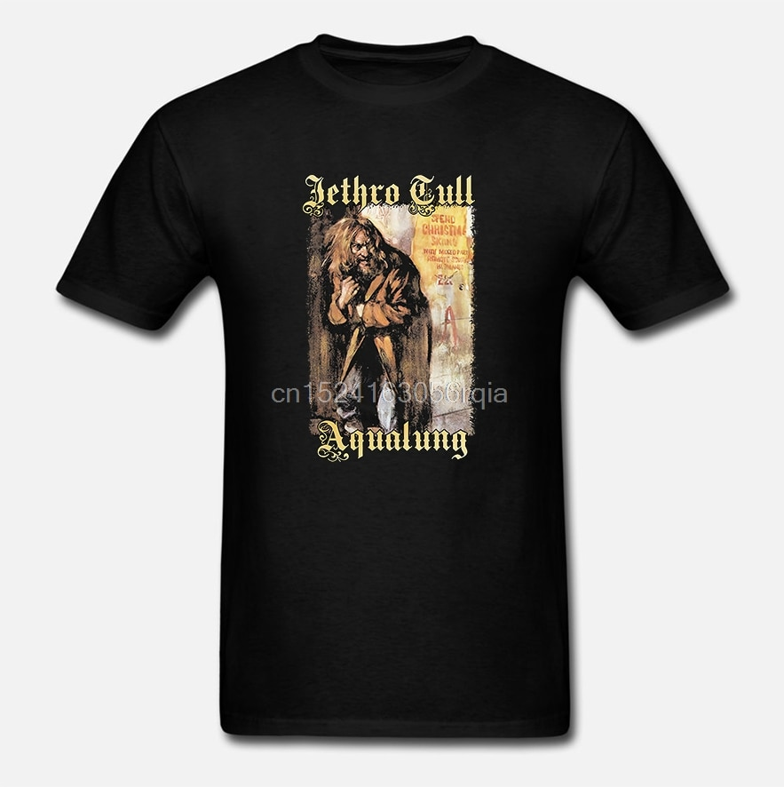 Jethro Tull Aqualung camiseta 100 algodón tallas S 5Xl Blaharajuku Streetwear Menige verde oliva