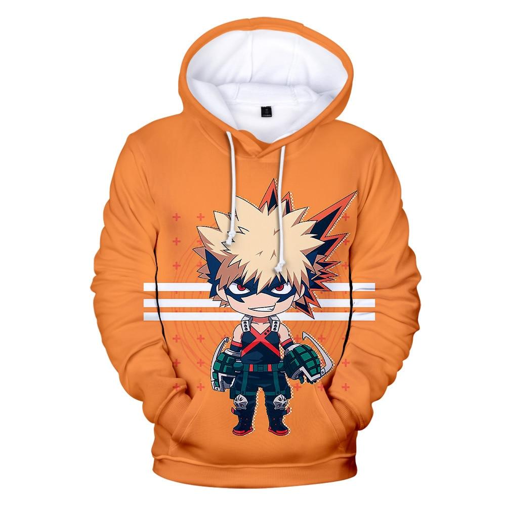 Anime My Hero Academia 3D Hoodies Men/Women/Kids Spring Autumn Sweatshirts Cute Boys Girls Cosplay Boku No Hero Academia Tops