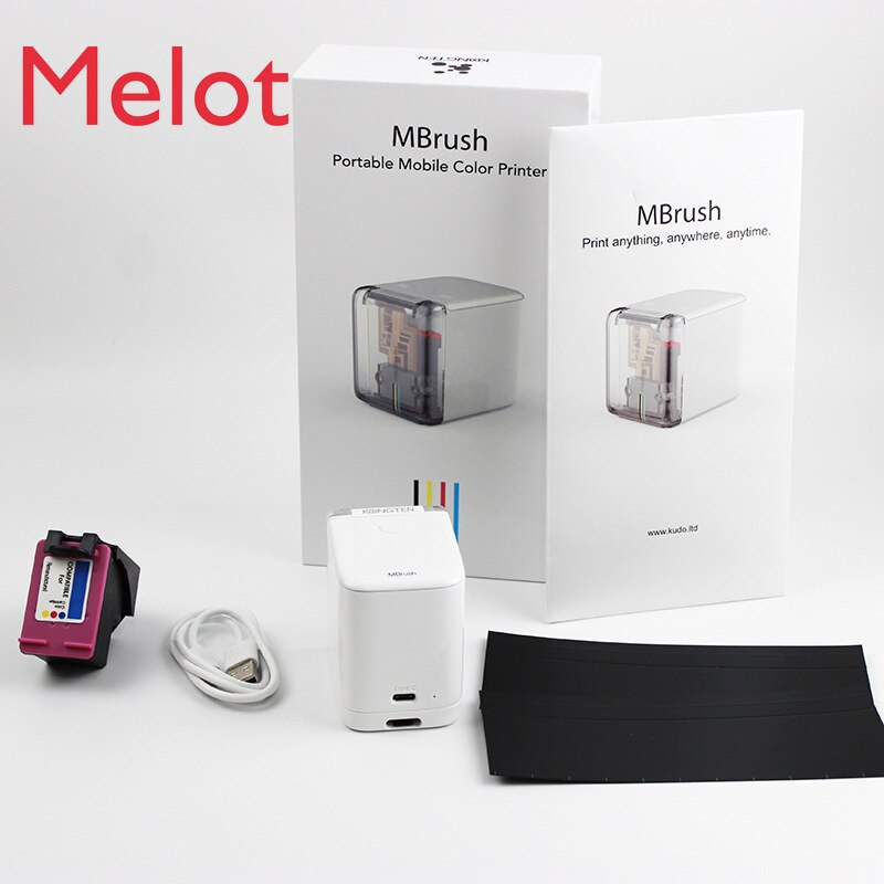 Handheld Printer Smart Full Multi-Color Inkjet Portable Mini Label Tattoo Printing Machine Night Inkjet Student Home Wireless enlarge