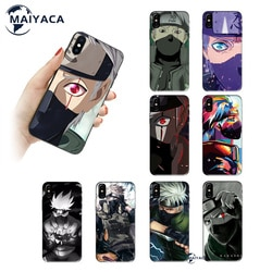 Novos produtos para meninas anime naruto hatake kakashi celular capa para iphone 11 12 pro max 7 8 plus x xs max xr