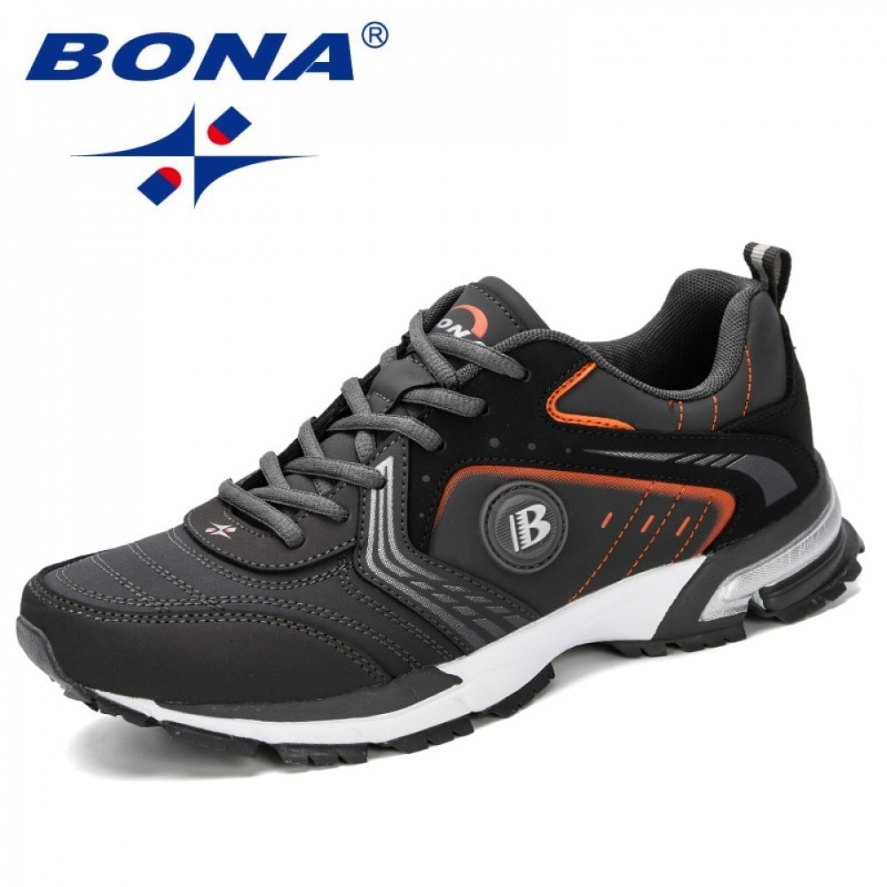 AliExpress - BONA Running Shoes Men Fashion Outdoor Light Breathable Sneakers Man Lace-Up Sports Walking Jogging Shoes Man Comfortable