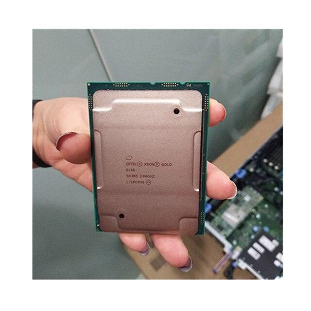 الأصلي الجديد xeon الذهب 6138 20C/40T معالج الملقم وحدة المعالجة المركزية