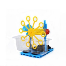 DIY Bubble Blister Robot Machine Educational Kit Handmade