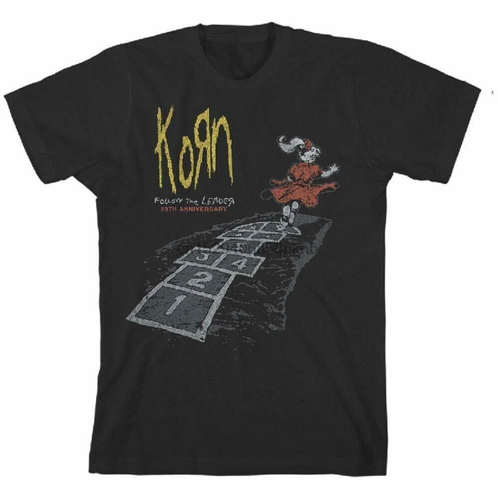 Authentique KORN suivre le Leader 20th anniversaire T-Shirt S M L XL 2XL 3XL neuf