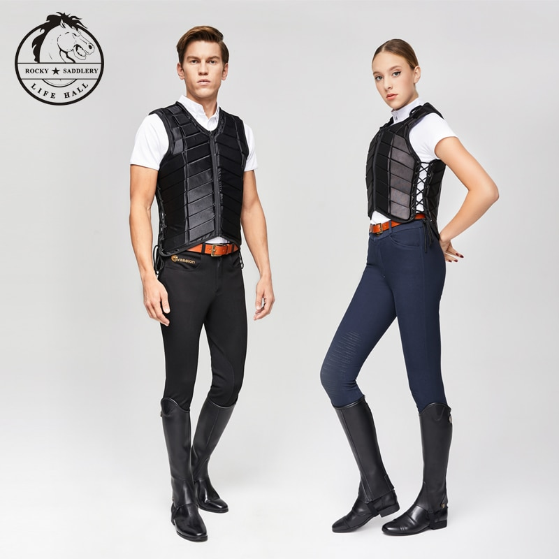 Unisex outdoor ridding EVA  vest  Protect riding safety Equestrian Vest for man and womSafety riding equipmenten