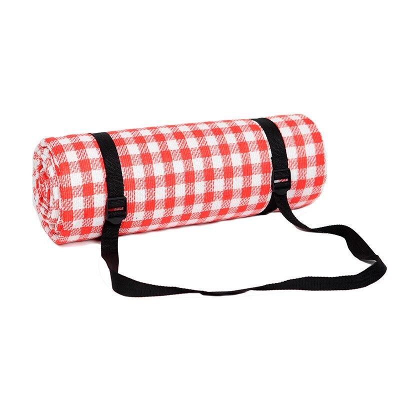 Camping Mat Outdoor Beach Picnic Folding Mattress Waterproof Sleeping Camping Pad Mat Moistureproof Plaid Tourist Blanket