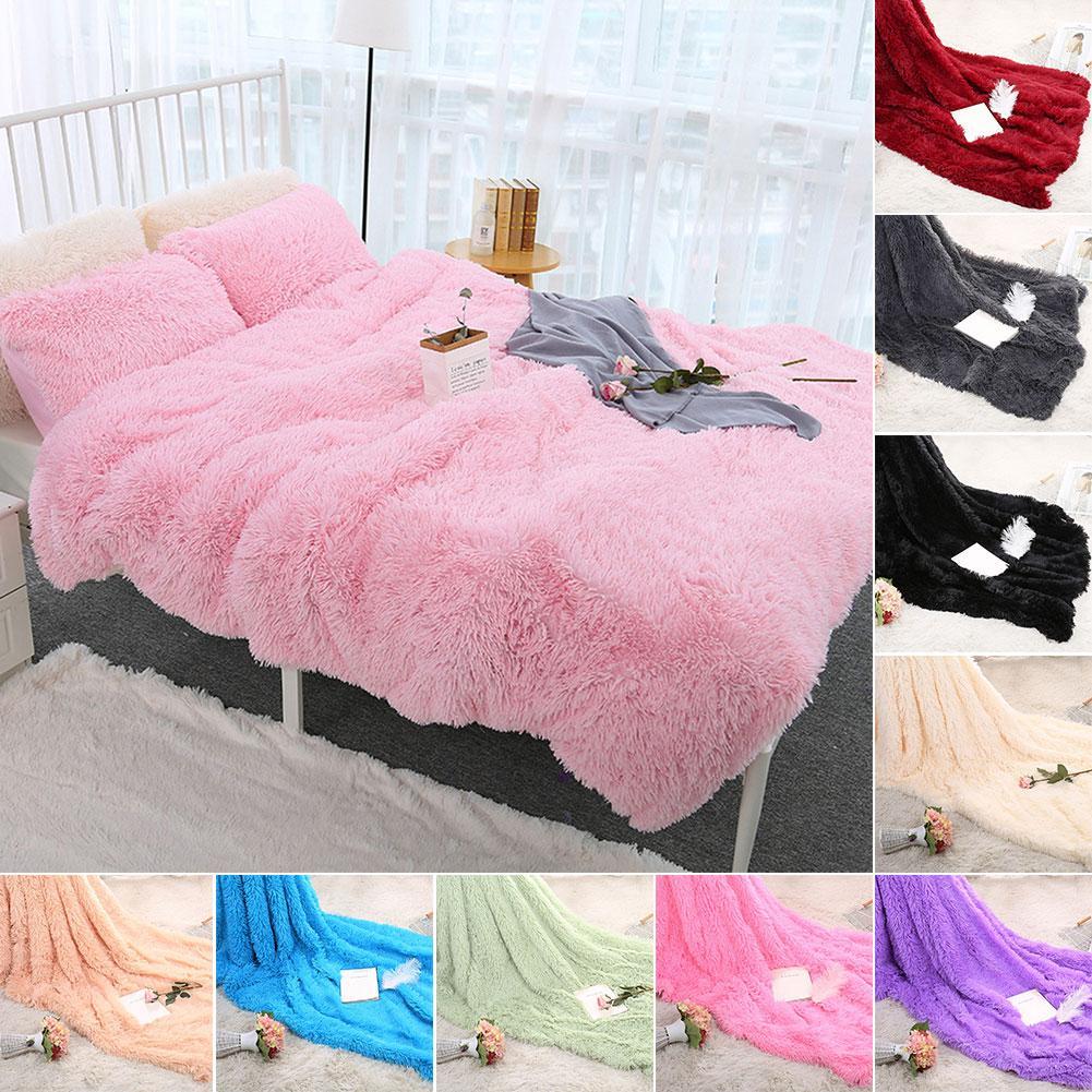 80x120cm, suave y esponjoso, peluda, cálida cama, sofá, colcha, Sábana de cama, suave y cómoda, cálida, mullida y cómoda cobija