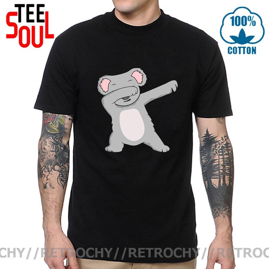 Camiseta para homem bonito coala dos amantes do coala t camisa de t para o homem adorável animal impressão camiseta