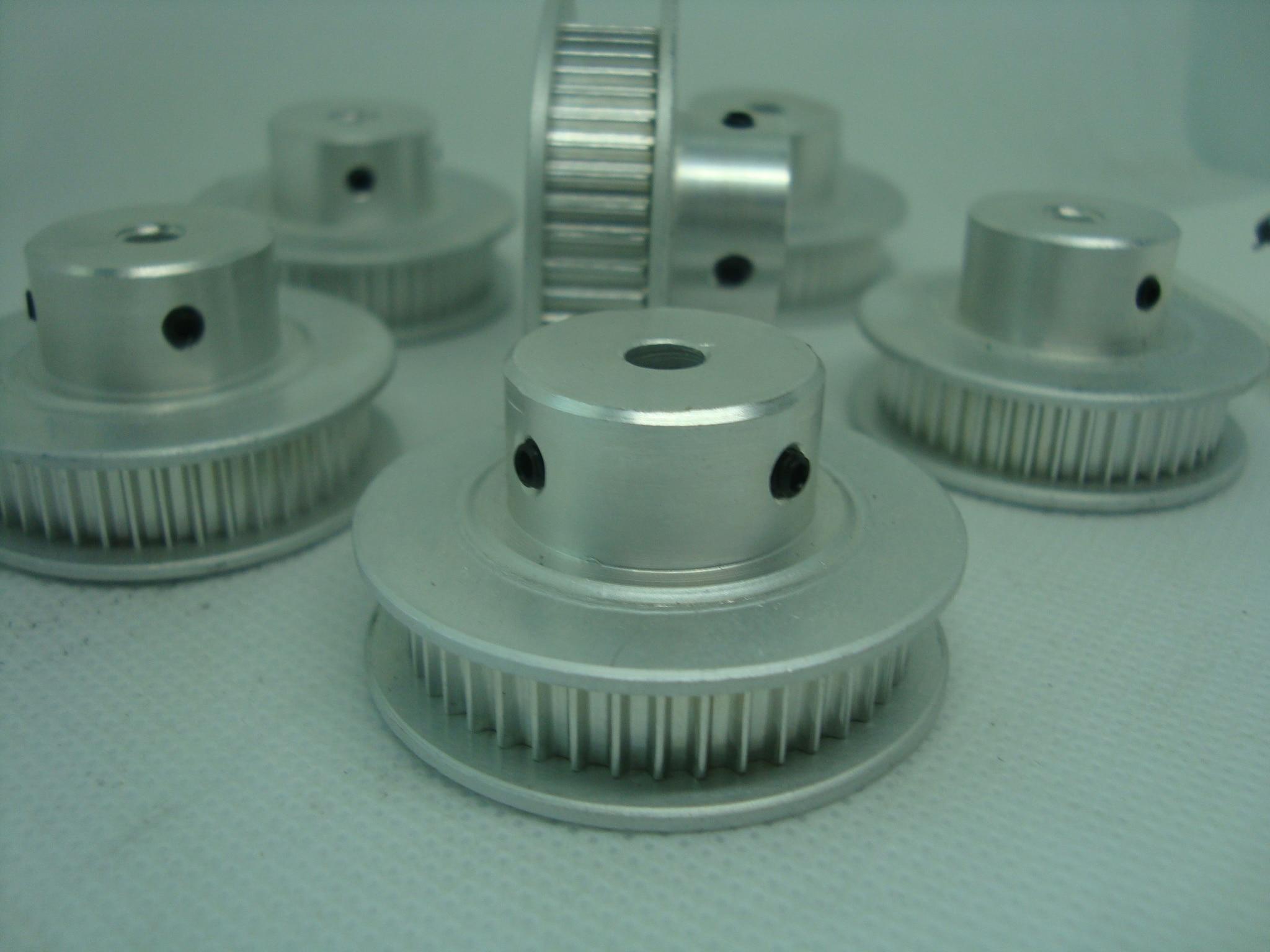 Poleas de distribución de envío gratis GT2 40 dientes y correa de 6mm de ancho