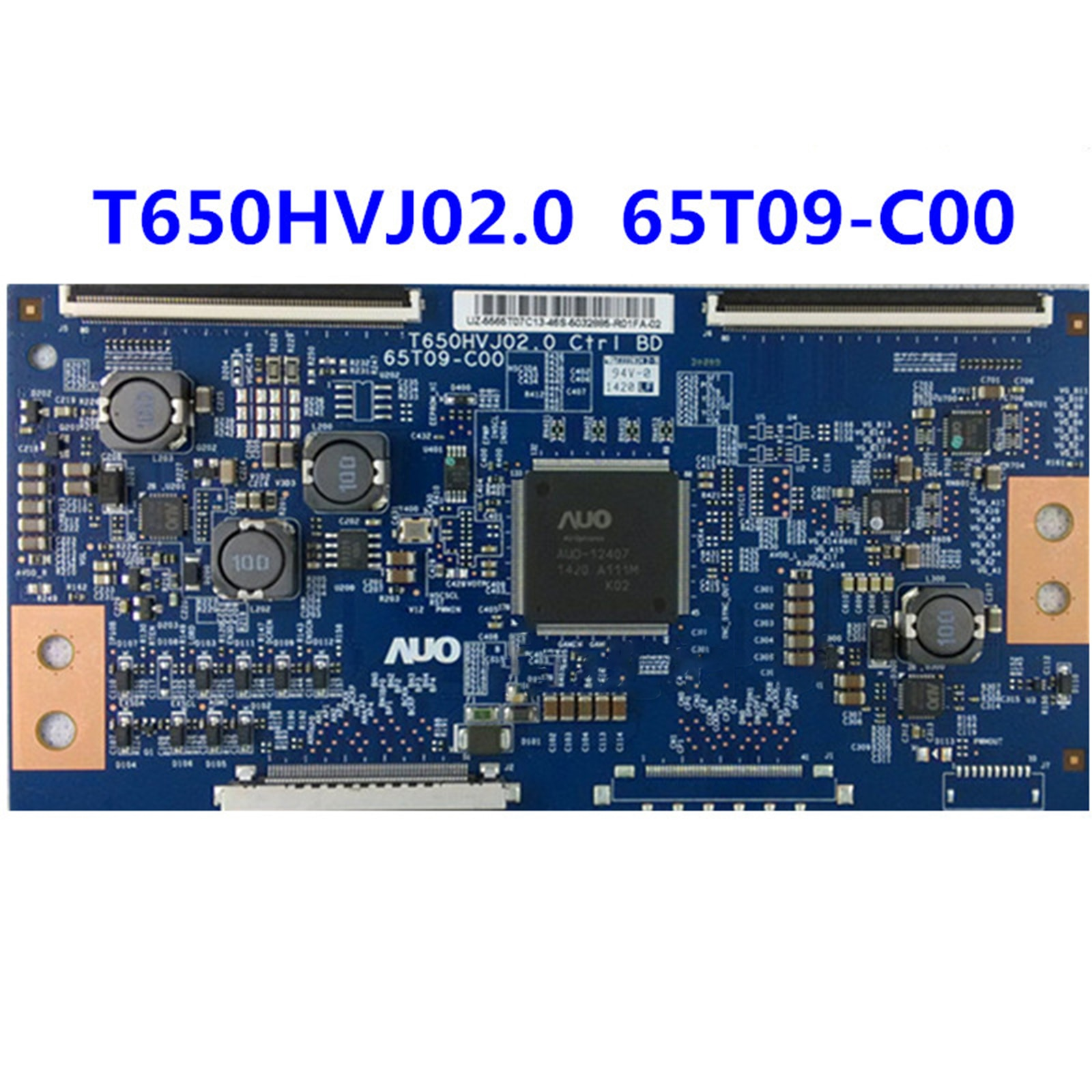T650HVJ02.0 65T09-C00-لوحة منطقية لاسلكية أصلية 65 بوصة 60 هرتز ، اختبار شامل ، ضمان الجودة ، 65T09-C00
