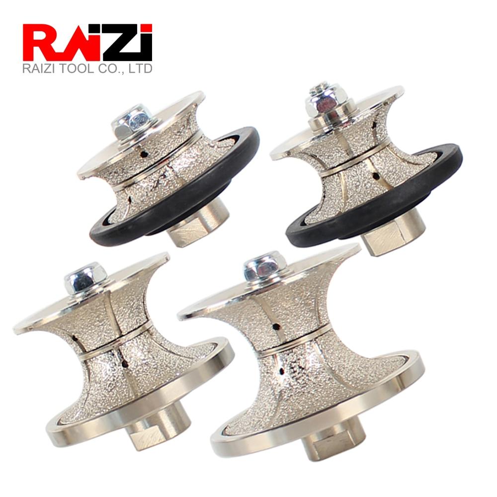 Raizi فراغ صنع من النحاس الماس اليد الشخصي عجلة كامل بوللنوسي V 20-50 مللي متر التنميط راوتر بت الجرانيت الرخام التعريف أداة