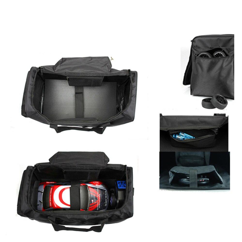 حقيبة تخزين للسيارة بجهاز التحكم عن بعد ، حقيبة حمل ، غطاء واقي لـ 1/10 1/8 HSP 94122 94188 RC ، ملحقات السيارة
