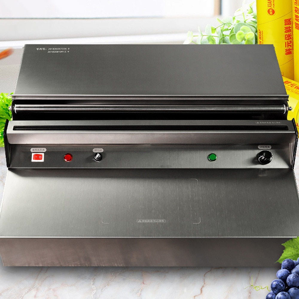 commercial electric nine grid spicy tanger oden cooking machine 1200w convenience store supermarket restaurant snack equipment Stainless Steel Fruit Vegetable Cling Film Packaging Machine Table Supermarket Commercial Sealing Machine Electric 220V 350W