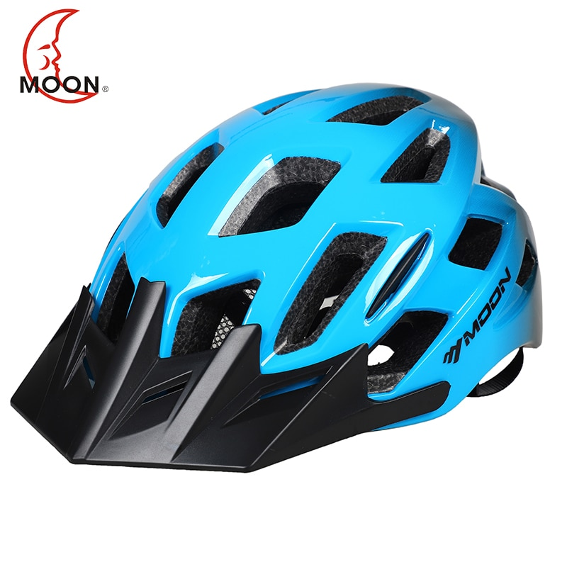MOON-casco Para Bicicleta de Montaña, moldeado integralmente, 2019 gradiente, 5
