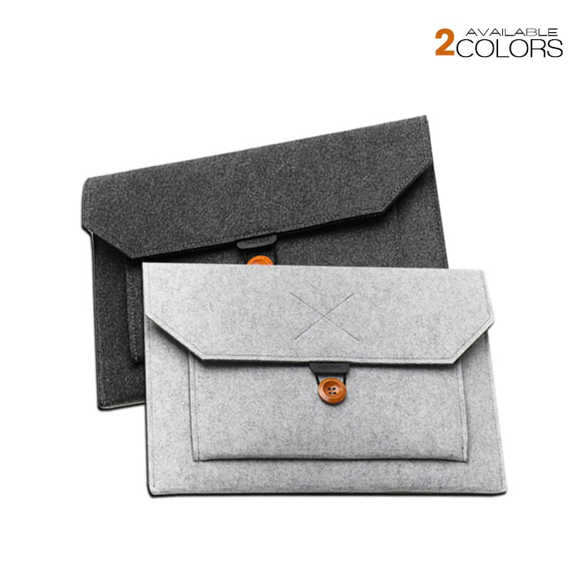 Чехол для ноутбука, войлочная сумка для Macbook Air Pro 11 12 13 14 15 16 дюймов, сумка для ноутбука HP Xiaomi Dell Lenovo Mac book