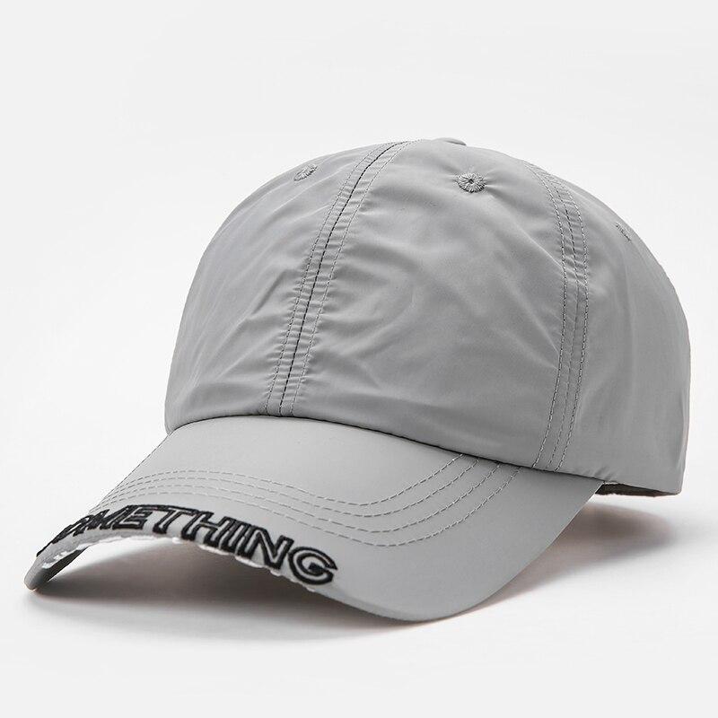 2020 летняя Водонепроницаемая бейсболка, уличные шапки от солнца, регулируемые быстросохнущие спортивные шапки